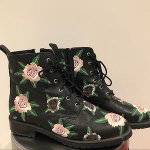 Rebecca Minkoff Leather Combat Boots